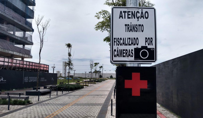Trânsito mais seguro no Parque Una